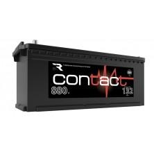 АКБ п.п Contact  6CT-132L.880A (513*189*223) Конус.