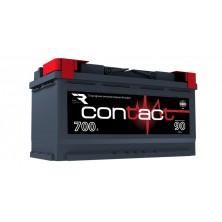 АКБ п.п Contact  6CT-90L.700A (353*175*190) Конус.