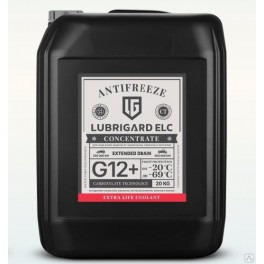 PC АНТИФРИЗ LUBRIGARD ANTIFREEZE ELC CONCENTRATE 20 КГ