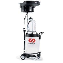 Маслосборник комбинированный для слива/откачки масла с предкамерой, 100 л