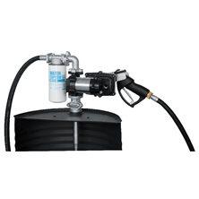 Drum EX50 12V ATEX - Бочковой ком-кт для бензина э/насос, фильтр, мех.пист., каб. питания, 50 л/мин