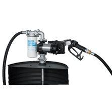 Drum EX50 12V ATEX - Бочковой ком-кт для бензина э/насос, фильтр, авт.пист., каб. питания, 50 л/мин