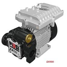 EX100 230/50 ATEX - Роторный электронасос для бензина, ДТ, керосина, 100 л/мин