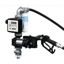 Drum EX50 K33 12V DC ATEX - Бочковой ком-кт для бензина э/насос, ф-р, мех.счет., авт.пист., 50 л/м