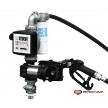 Drum EX50 230V K33 ATEX - Бочковой ком-кт для бензина э/насос, ф-р, мех.счет., мех.пист., 50 л/мин