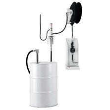Настенный комплект для раздачи масла с насосом PM 2, счетчиком и каплеуловителем для бочек 205 л