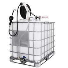 Комплект с насосом для масла 31 с катушкой для контейнеров 1000л.