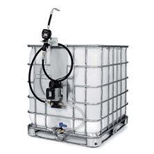 Комплект с электронасосом для масла для контейнеров 1000 л