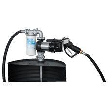 Drum EX50 230V ATEX - Бочковой ком-кт для бензина э/насос, фил-р, мех. пист., 50 л/м (без каб.пит.)